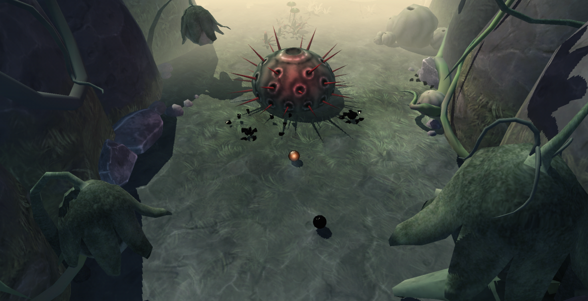 Globosome screenshot3 1170x600 Globosome: Path of the Swarm